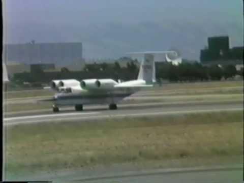 NASA Ames Research Center -QSRA Research Aircraft at NAS Moffett Field '87