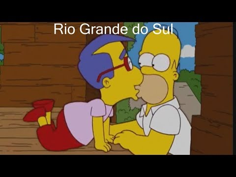 OS SIMPSONS DE CADA ESTADO