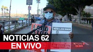 Sigue la tensión en el ambiente de Los Ángeles – Noticias 62 - Thumbnail