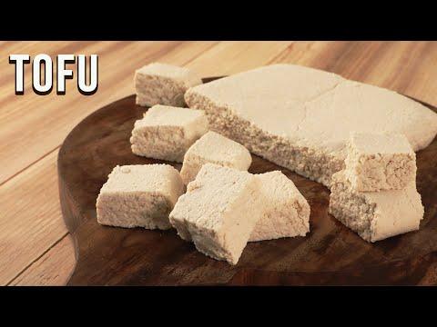 How To Make Tofu | Homemade Tofu Recipe | Soya Paneer | Vegan Recipes | Basic Cooking | Ruchi