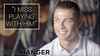 Video Cristiano Ronaldo on Wayne Rooney FULL INTERVIEW | Wayne Rooney: The Man Behind the Goals MP3, 3GP, MP4, WEBM, AVI, FLV Juni 2019