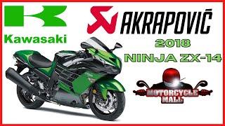 6. 2018 Kawasaki Ninja ZX-14R | Akrapovic Exhaust