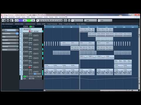 My first Ambient Track with Cubase Elements 7 (HD)
