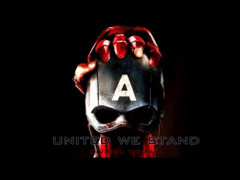"""Captain America: Civil War  - """" United We Stand.Divided We Fall """" ( Marvel x DC part 1 )"""