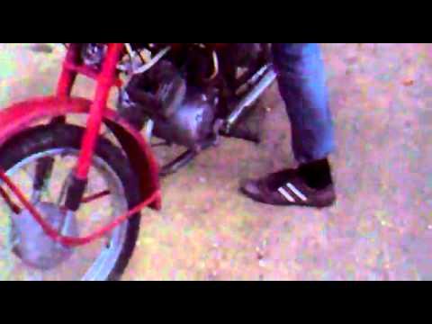 comment demarrer un velomoteur