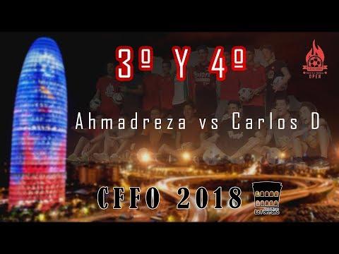 CFFO 2018 3º & 4º | Ahmadreza vs Carlos D