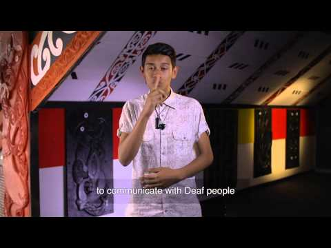 Understanding rangatahi who are Deaf (NZ).
