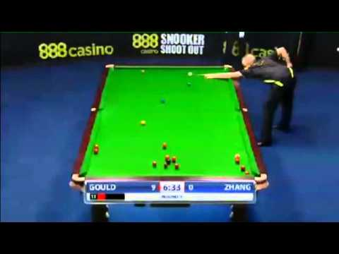 Zhang Anda - Martin Gould (Round 1) Snooker Shoot Out 2014