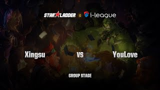 XingSu (星苏) vs YouLove (优容爱), game 1