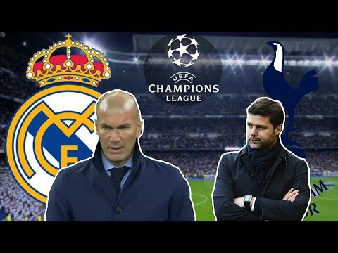 Can Zidane Win 3 UCL In A Row?    Real Madrid-Tottenham Tactical Analysis