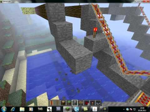 Minecraft Making Minecard/Tren/RollerCooster/Tren Yapımı Turkce