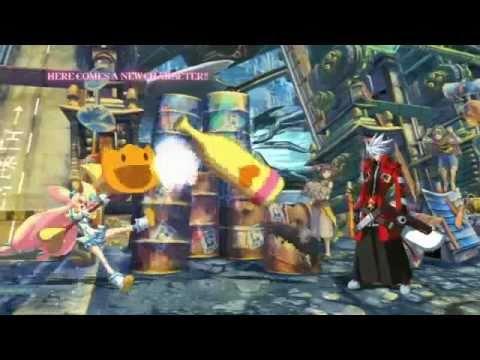 TAITO NESiCA x Live : BLAZBLUE CONTINUUM SHIFT II TRAILER