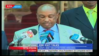 KTN Prime: Government Gives IEBC Commissioners Their Stipulated Send Off Package, September 28 2016