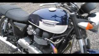 5. Triumph Bonneville SE 2009 Cruiser Motorcycle Review