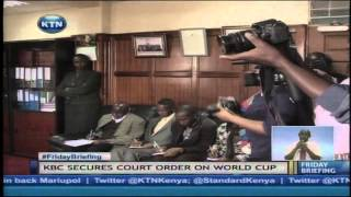 High Court Stops 3 Digital TV Companies From Broadcasting World Cup Via KBC