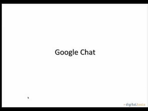 google chat - A short video tutorial explaining what google Chat is, and what it can be used for.