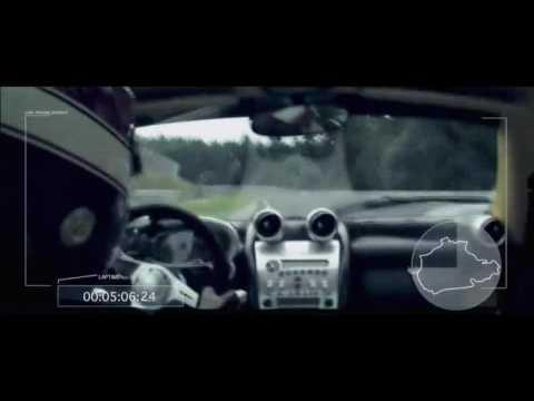 Pagani Zonda F Nurburgring full lap record in HD 720P