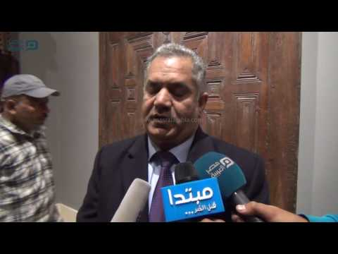 مصر العربية   ممدوح الدماطي يشيد بمرممي المتحف الإسلامي