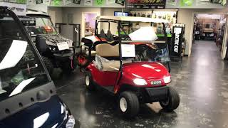 10. Red 2019 E-Z-GO 48 volt text Freedom @ Revel 42 Golf Carts and Power Sports