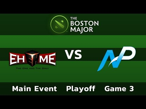 EHOME vs Team NP — Game 3 • Playoff Main Event — Boston Major