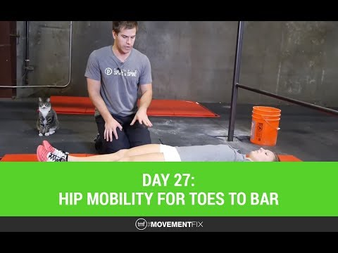 Day 27: Hip mobility for toes to bar