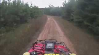8. Ride on the Honda Rubicon 500