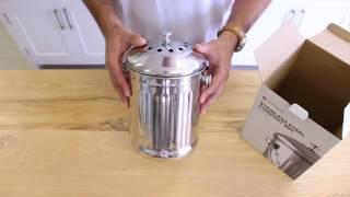 Unboxing the Yuppiechef Countertop Compost Bin