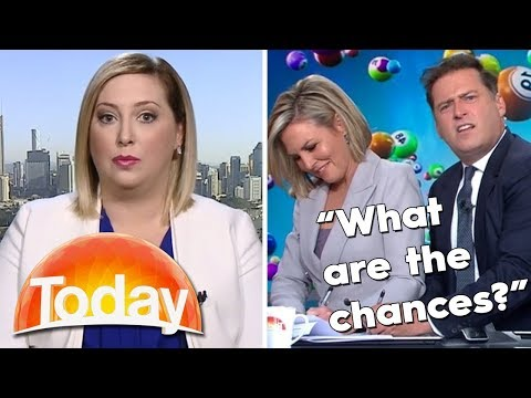 Karl and Georgie troll the Lotto lady | TODAY Show Australia
