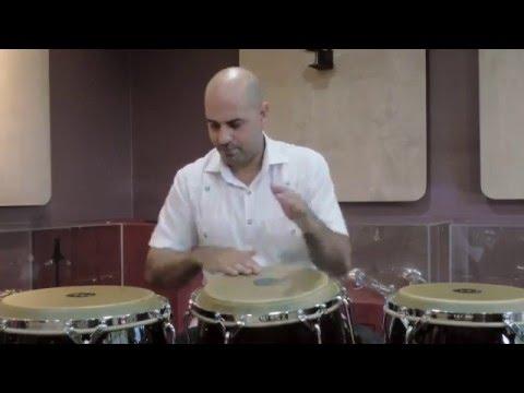 Salsa styles on conga with Jarrengton de Leon - Part 1 MEINL Percussion Woodcraft Series