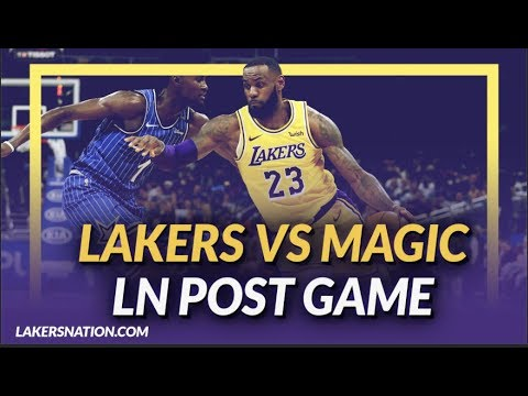 Video: Lakers Discussion: Lakers Lose to the Magic, Lonzo Held Scoreless & LeBron Held out of 4th