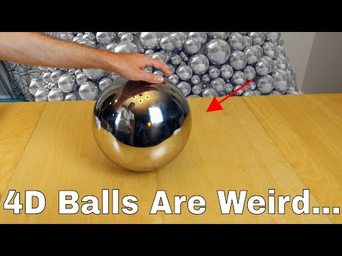 What Does A 4d Ball Look Like In Real Life? Amazing Experiment Shows Spherical Version Of Tesseract