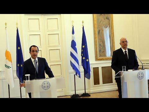 Δένδιας – Χριστοδουλίδης: Κοινή γραμμή Αθήνας και Λευκωσίας για τις τουρκικές προκλήσεις…