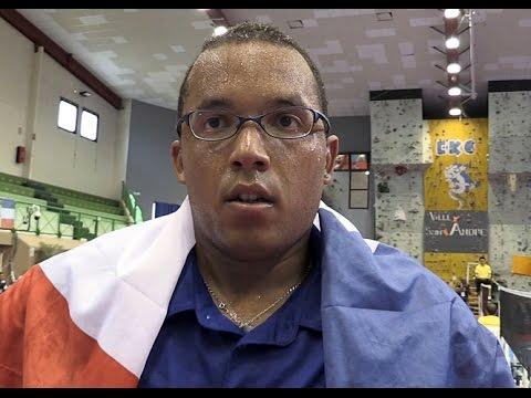 JIOI Badminton, 1/2 finales (double-mixte et simple hommes) vendredi 7août à Saint-André
