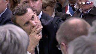 Zap zap - [Zap Actu] Emmanuel Macron à la rencontre des Maires de l'Eure (16/01/19)