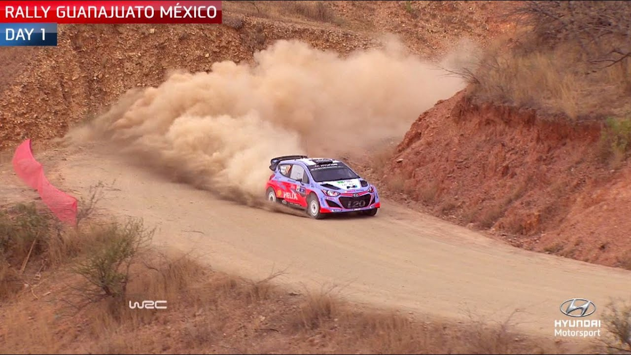 Rally Mexico Day One – Hyundai Motorsport 2015