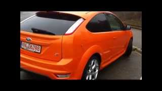 Ford Focus ST 2.5 225 HP Review Testdrive