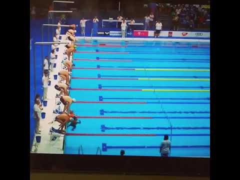 Ισπανός κολυμβητής θυσιάζει την πρόκριση για να τιμησει τα θύματα της Βαρκελώνης
