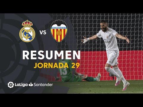 Resumen de Real Madrid vs Valencia CF (3-0)