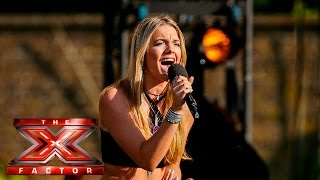 Video Louisa Johnson stuns with Sam Smith cover | Boot Camp | The X Factor UK 2015 MP3, 3GP, MP4, WEBM, AVI, FLV Agustus 2018
