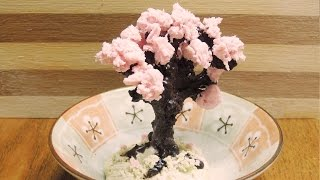 [몽브셰] 먹을 수 있는 미니어쳐 : 벚나무 만들ê...