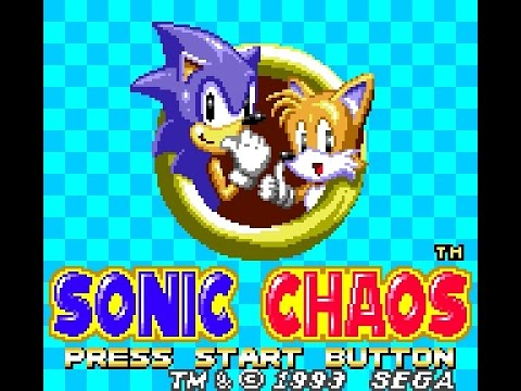 Sonic Chaos Game Gear