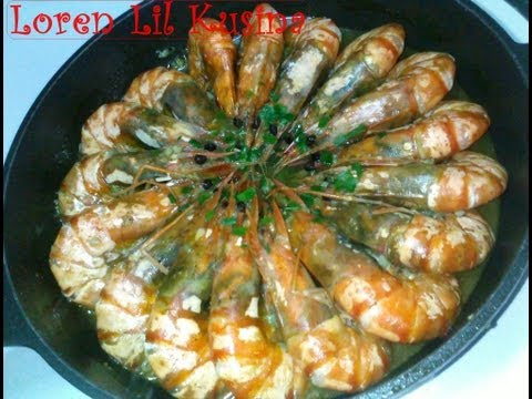 Tiger Prawns In Garlic Butter Recipe
