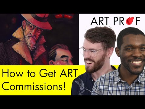 How To Get Art Commissions