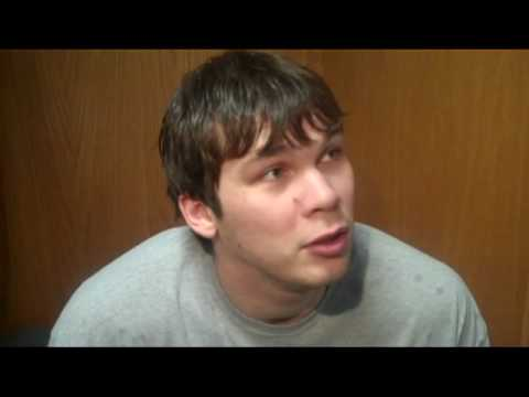 Funny Interview with Kyrylo Fesenko of the Utah Jazz after the loss to the Lakers