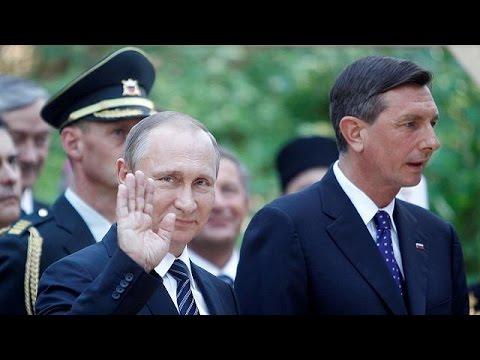 Τη Σλοβενία επισκέφθηκε ο Βλαντιμίρ Πούτιν