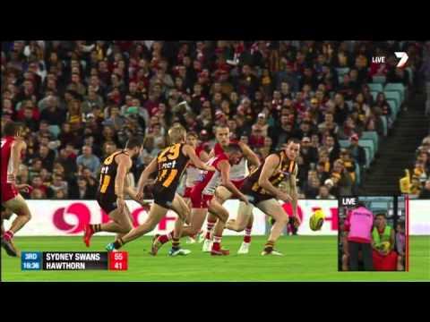 Roughy bumps McGlynn – AFL
