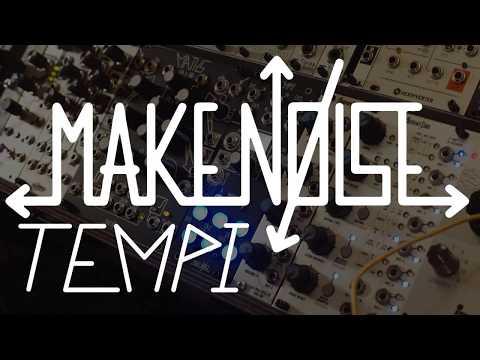 Make Noise Tempi Eurorack Master Clock Module Tutorial/Demo