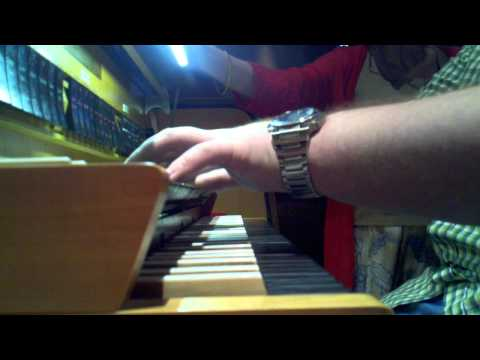Guy plays One Winged Angel (Sephiroths theme) on the organ... during church service
