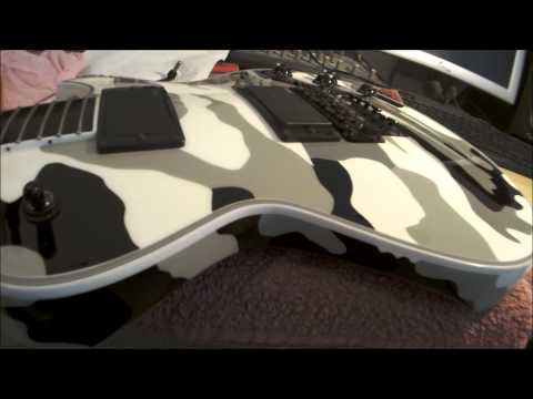 ESP Eclipse I CTM FR Camo pickup shift - Randall UN120 music clip