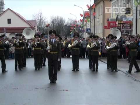 Отжиг военных музыкантов в Слониме   - (Прикол)